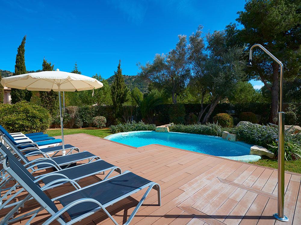 Viviendas vacacionales en Mallorca - Villa S'Anfora, Costa de los pinos